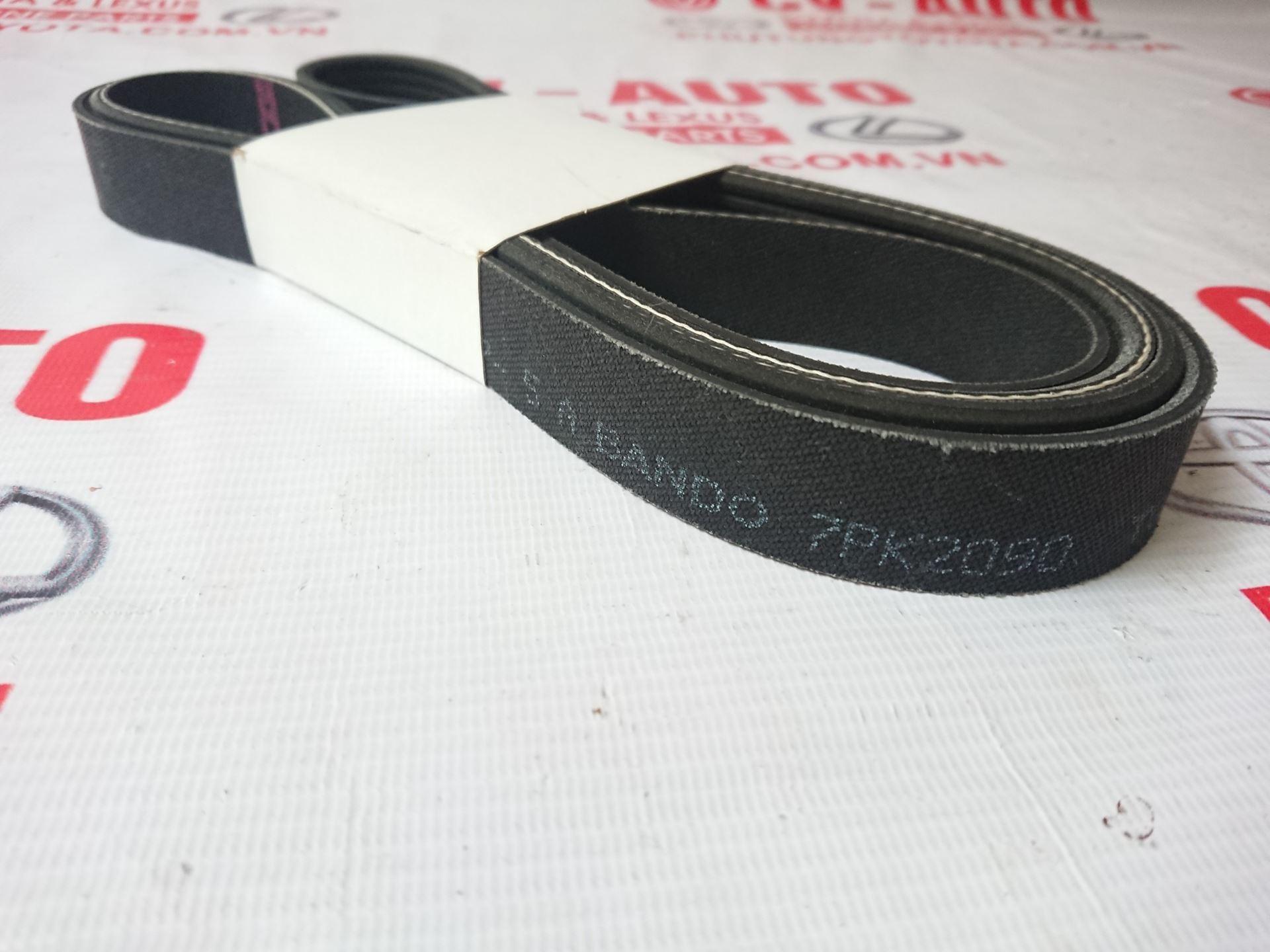 Picture of 90916-A2010 90916-C2090 7PK2090 Dây curoa tổng động cơ 3.5 2GR chính hãng 7PK2090