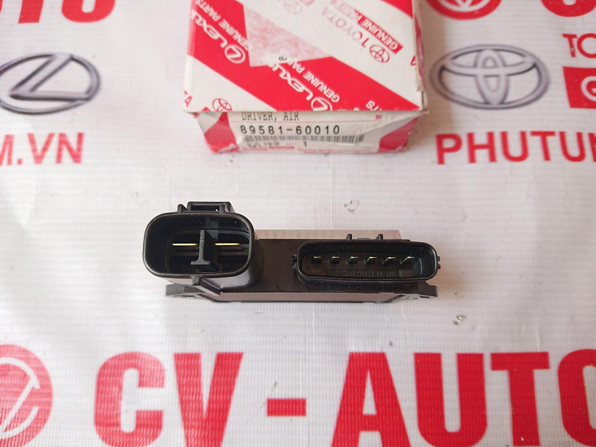 Picture of 89581-60010 Hộp điều khiển khí nạp Toyota, Lexus hàng chính hãng