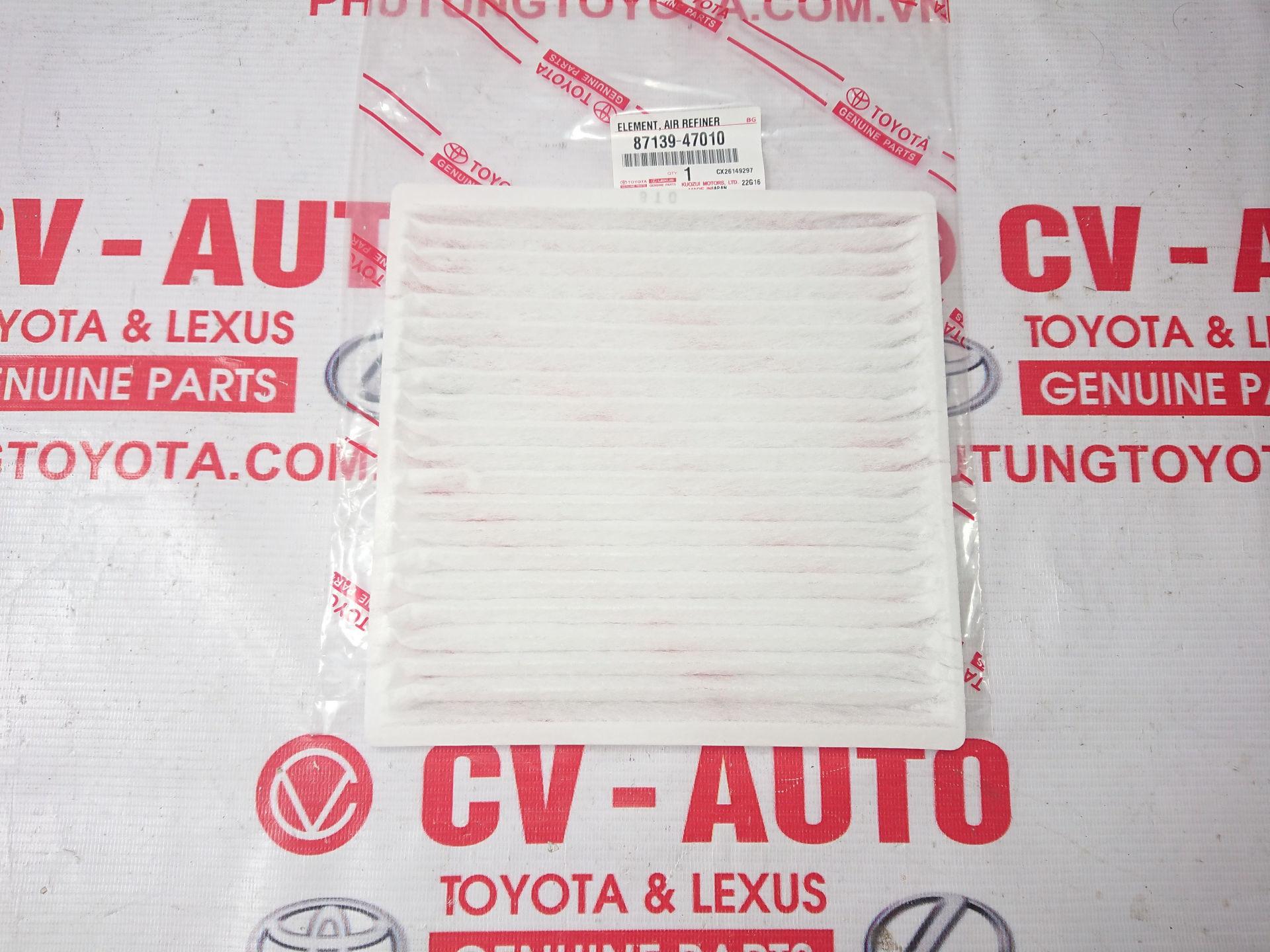 Picture of 87139-47010 Lọc gió điều hòa Lexus GX470, Prado chính hãng