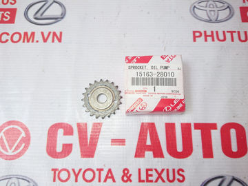 Hình ảnh của15163-28010 Nhông bơm dầu Toyota Camry 2AZ hàng chính hãng