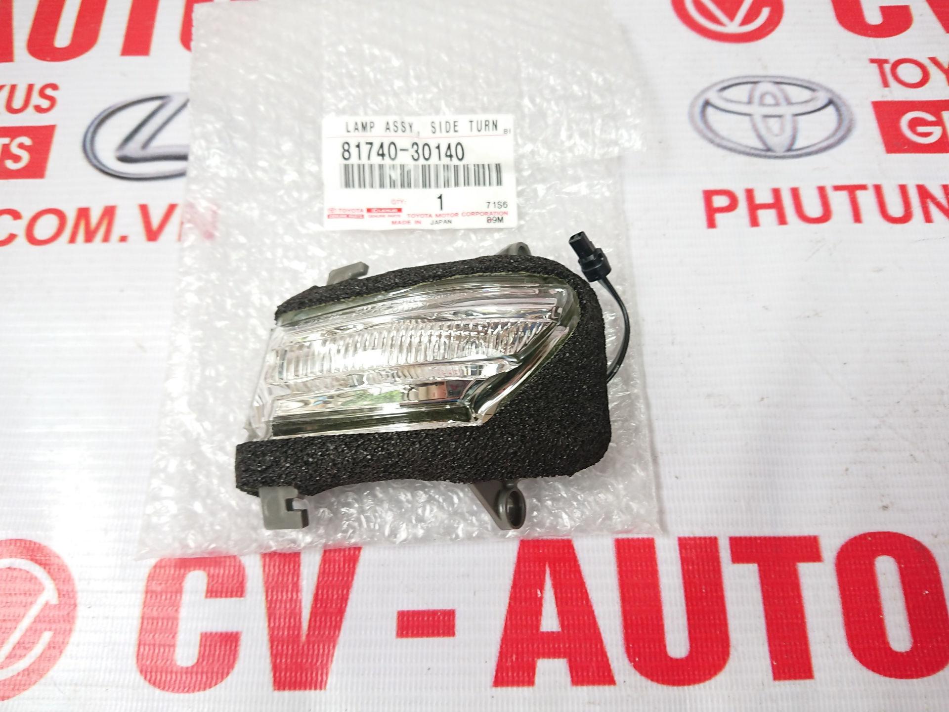 Picture of 81740-30140 Xi nhan gương trái Lexus GS350 hàng chính hãng