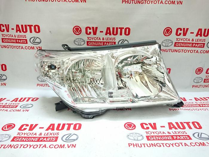 Picture of 81140-60D22 Đèn pha phải Toyota Land Cruiser 2010 chính hãng