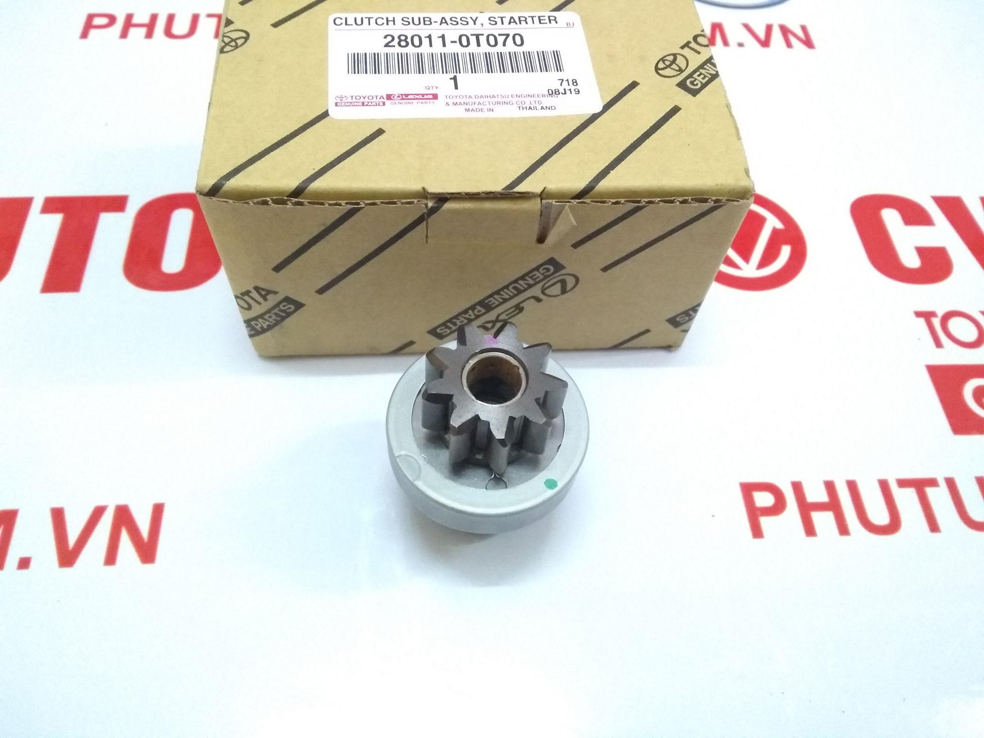 Picture of 28011-0T070 280110T070 Mắc ních đề Innova, Vios, Altis chính hãng