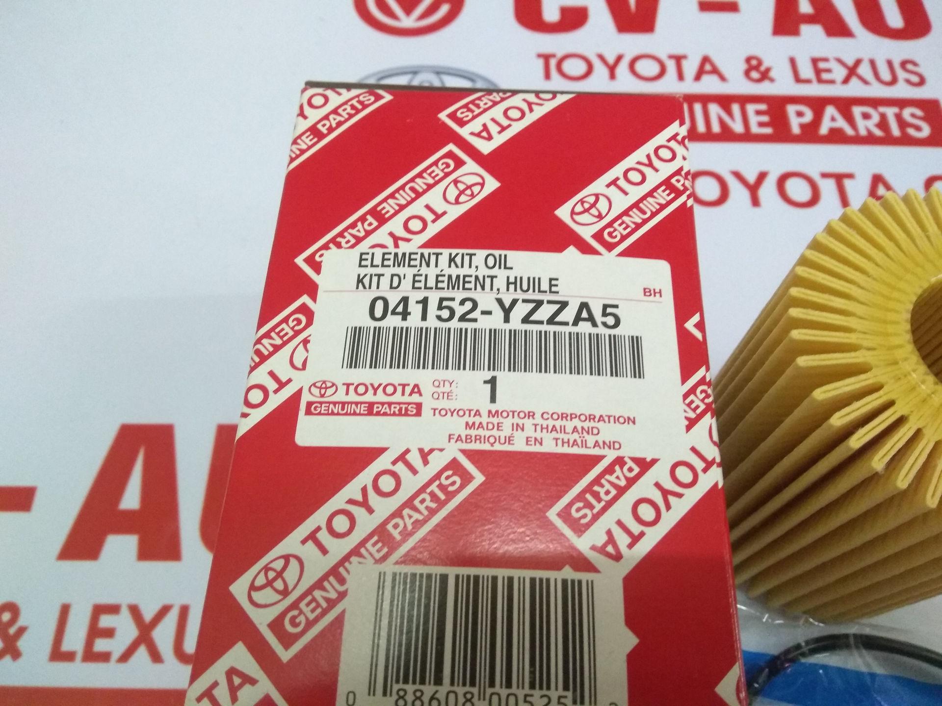 Picture of 04152-YZZA5 Lọc dầu giấy A5 Toyota, Lexus 38010, 31050, 31060  chính hãng