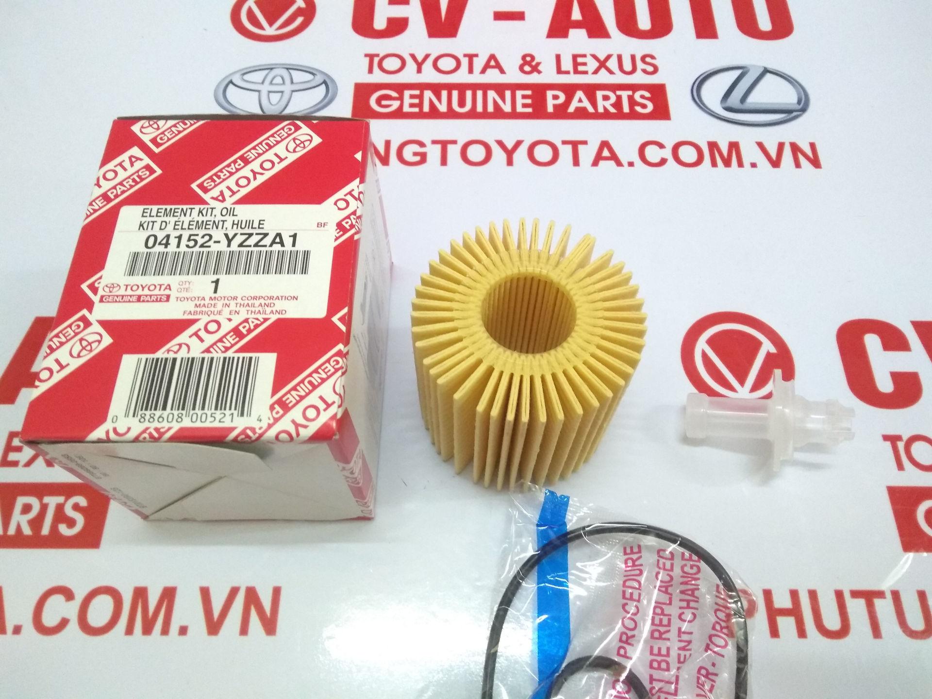 Picture of 04152-YZZA1 Lọc dầu giấy A1 Toyota, Lexus 31090 hàng chính hãng