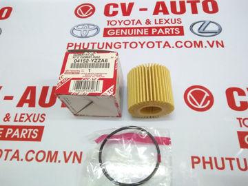 Hình ảnh của04152-YZZA6 Lọc dầu giấy A6 Toyota, Lexus 37010 chính hãng