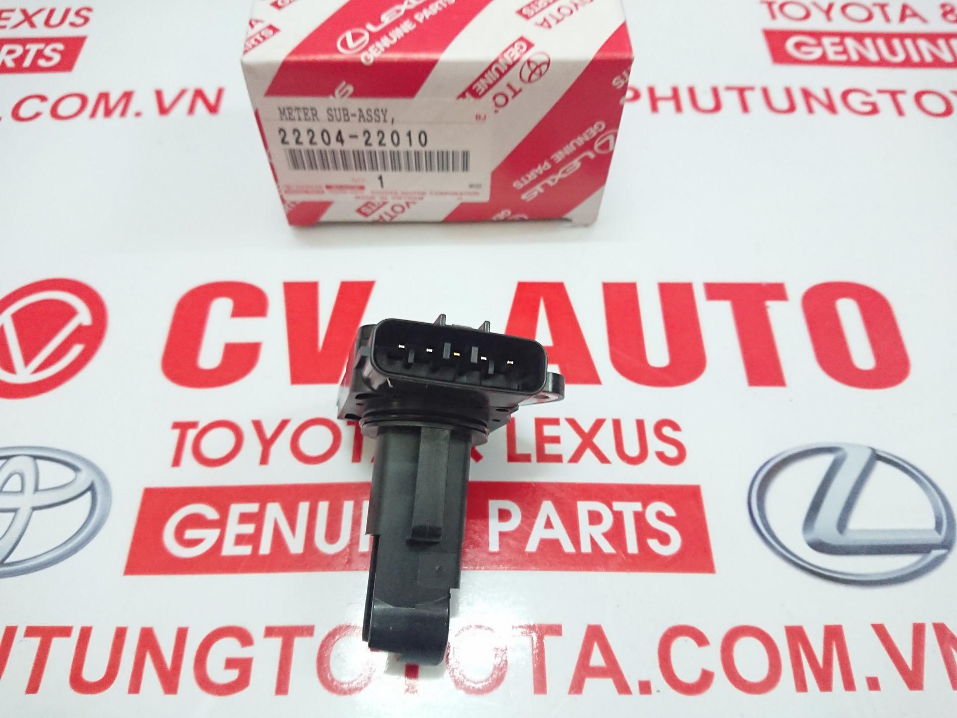 Picture of 22204-22010 Cảm biến lưu lượng gió Toyota, Lexus chính hãng