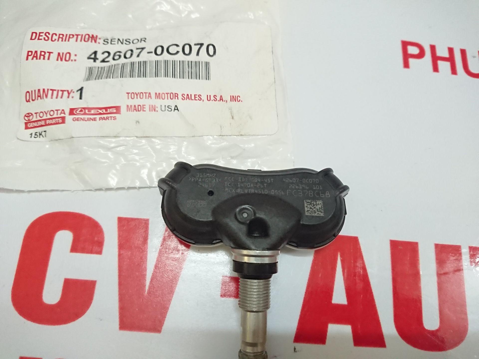 Picture of 42607-0C070 Cảm biến áp suất lốp Toyota Sienna hàng chính hãng
