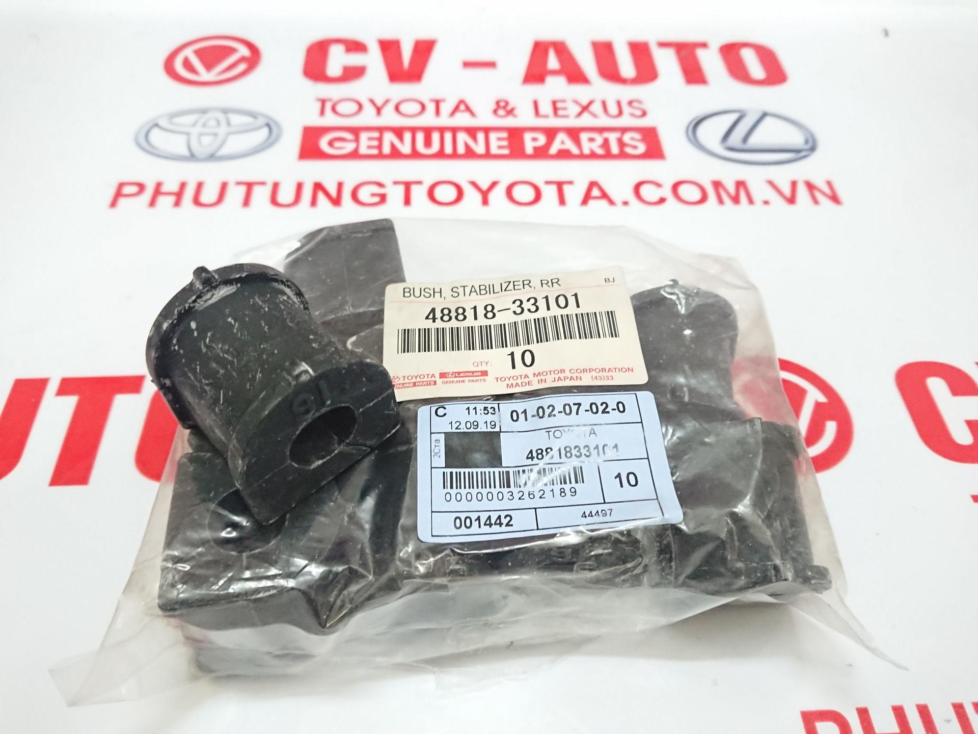 Picture of 48818-33101 Cao su cân bằng Toyota Camry Mỹ hàng chính hãng