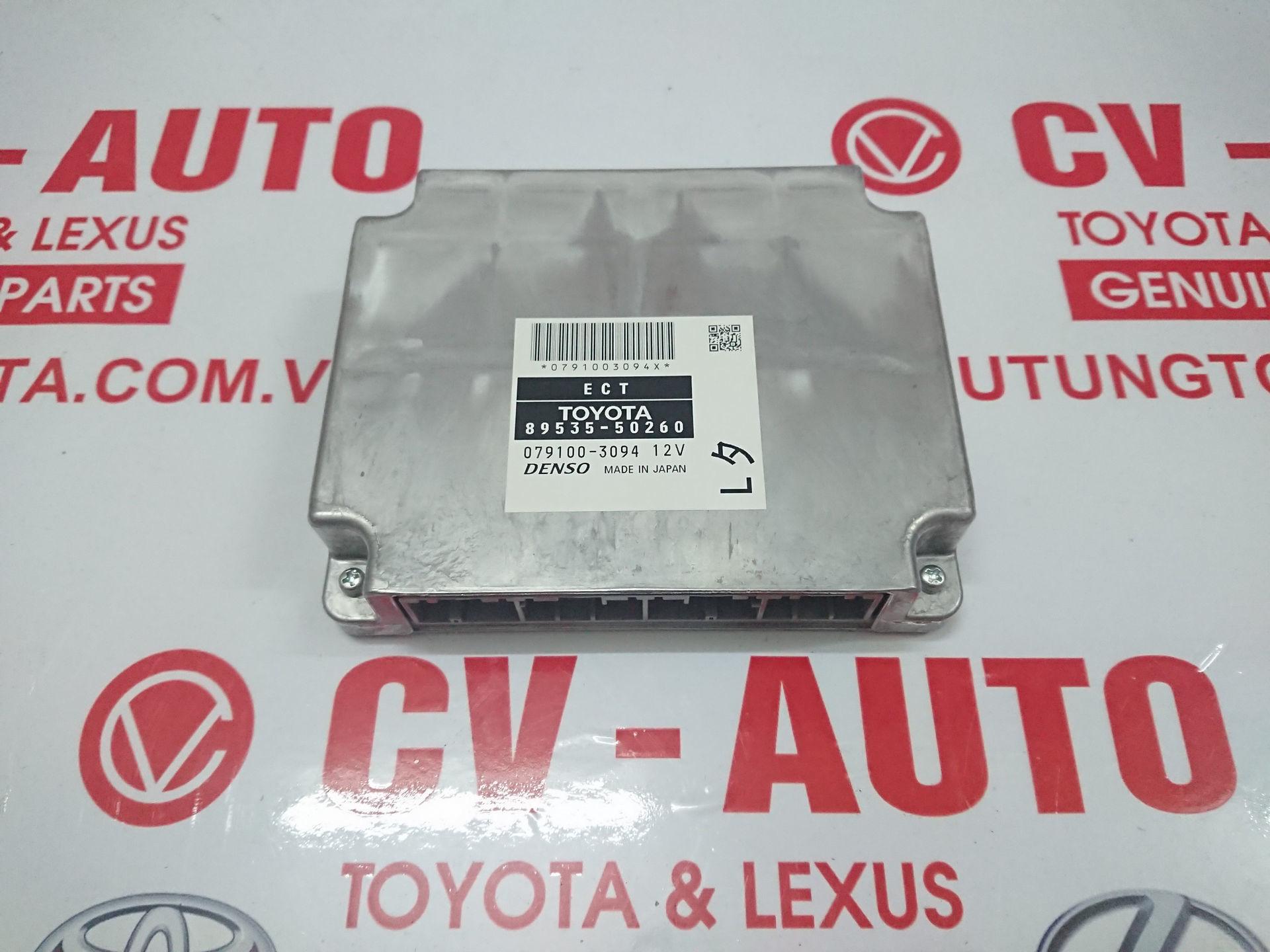 Picture of 89535-50260  Hộp điều khiển hộp số Lexus LS460 hàng chính hãng