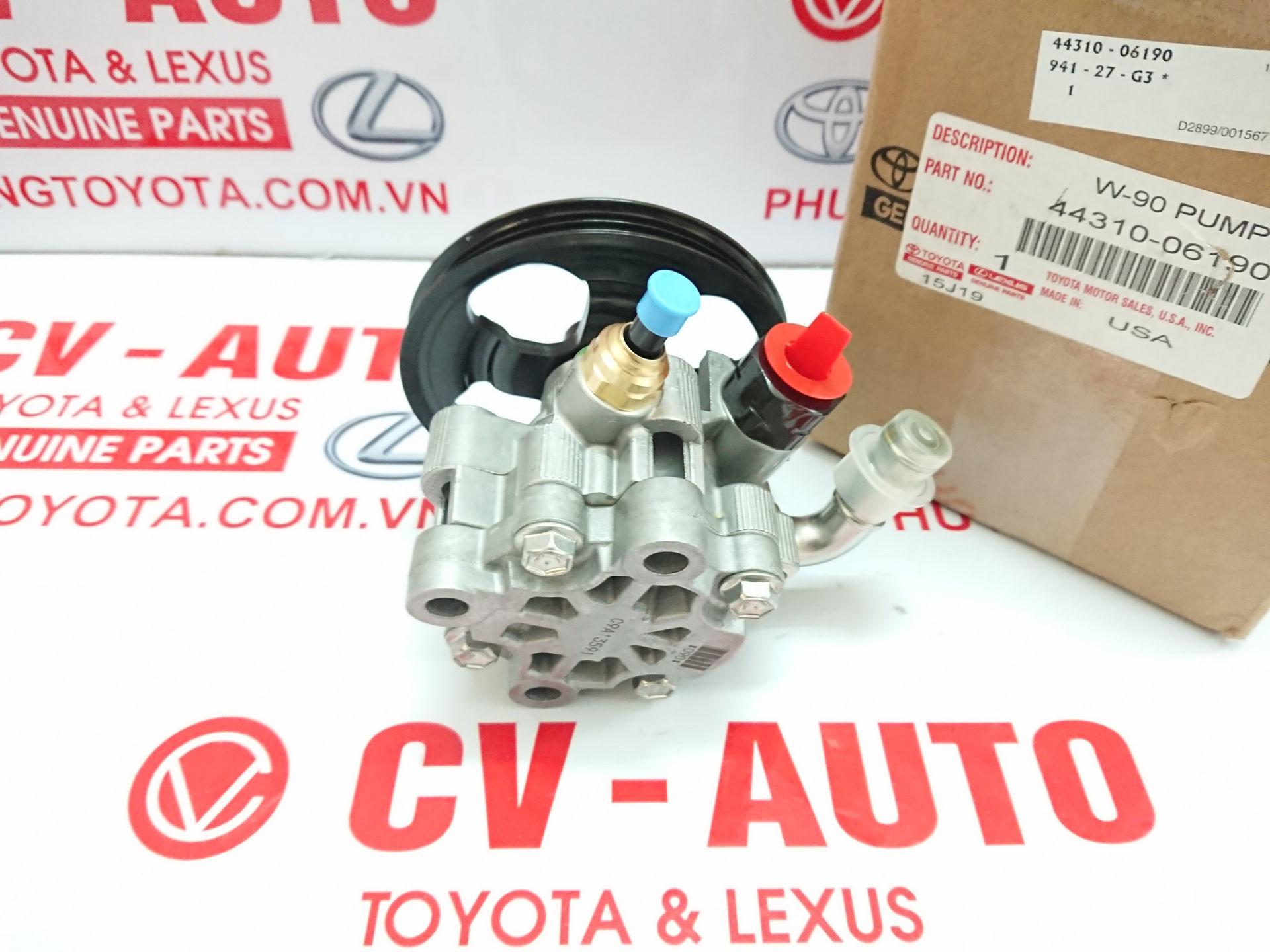 Picture of 44310-06190 Bơm trợ lực Toyota Camry Mỹ 2.5 ASV40 chính hãng