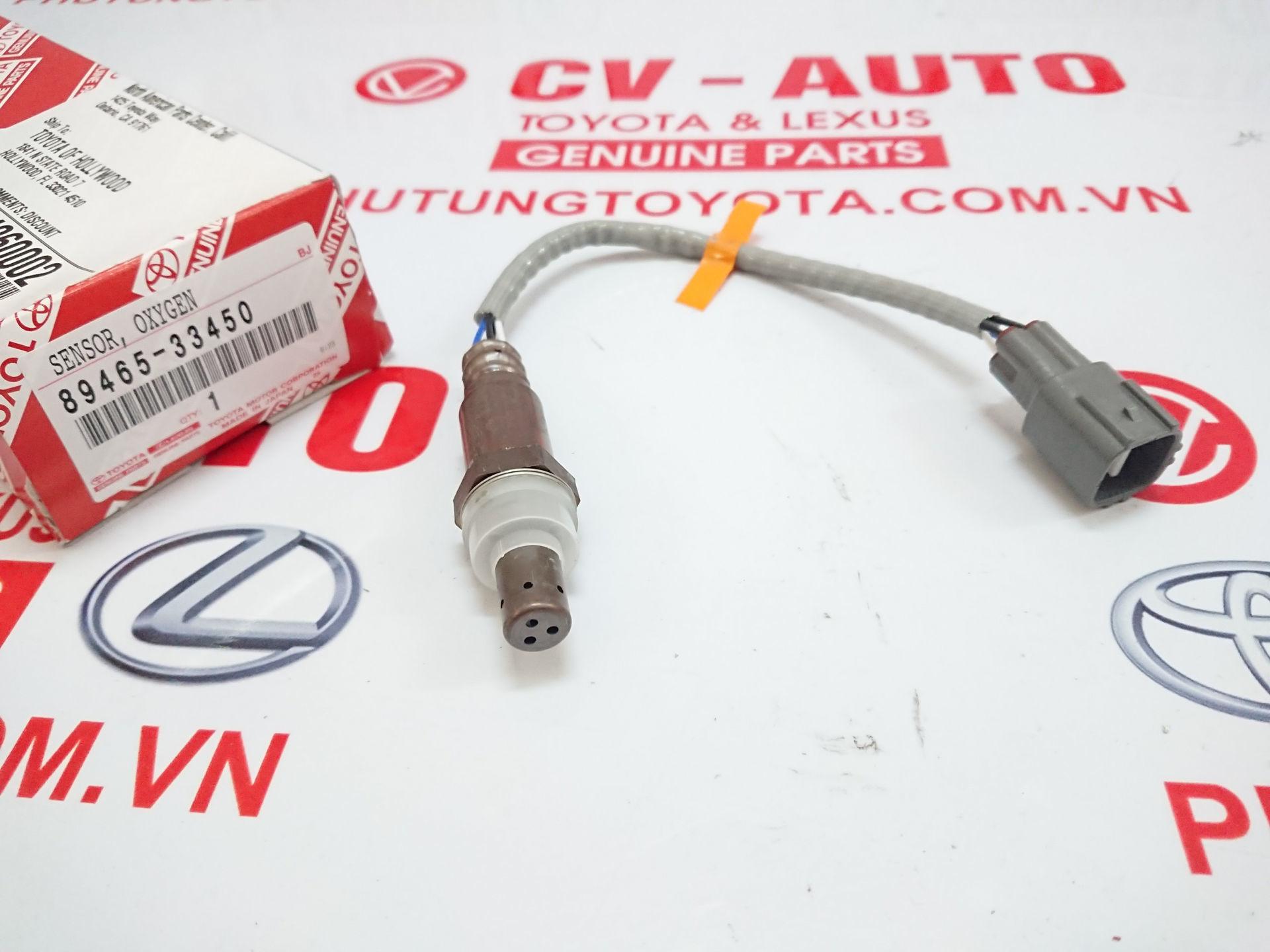 Picture of 89465-33450 Cảm biến ô xy khí xả Toyota Camry Mỹ 2.5 ASV40 chính hãng