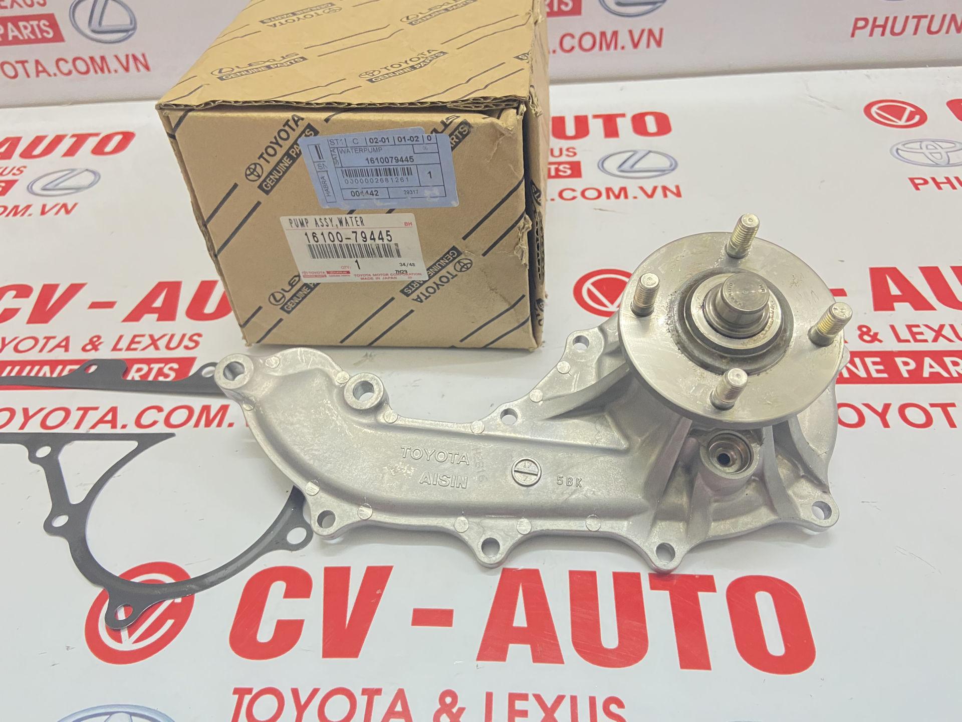 Picture of 16100-79445 Bơm nước Toyota Innova 1TR, Fortuner, Land Cruiser Prado, Hiace 2TR chính hãng