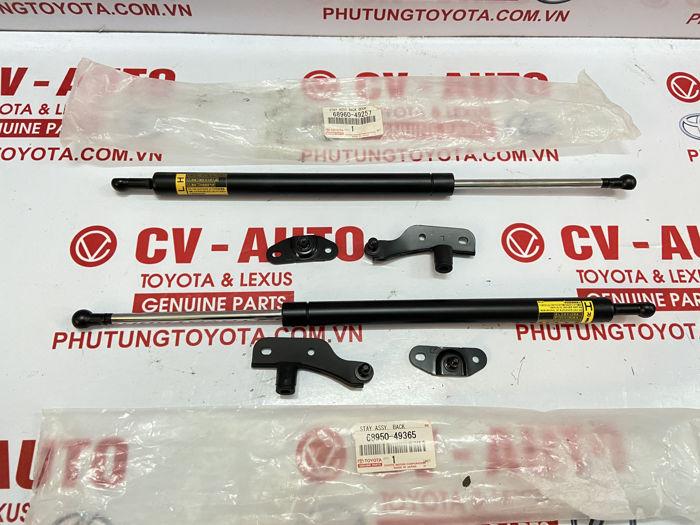 Picture of 68960-49257 68950-49365 Ti chống cửa hậu Toyota Highlander 07-10