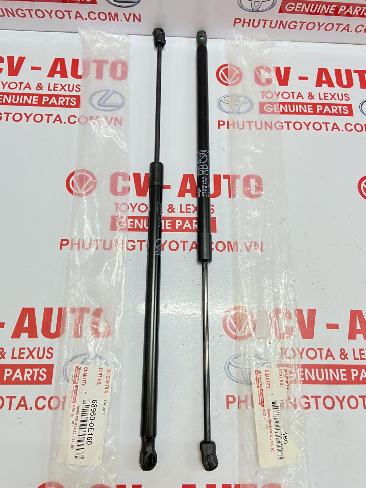 Picture of 68960-0E160 68950-0E160 Ti chống cửa hậu trái, phải Lexus RX350, RX450H