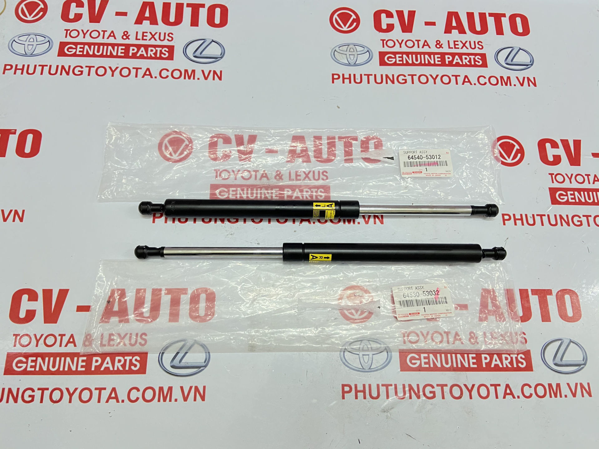 Picture of 64540-53012 64530-53032 Ti chống cốp Lexus IS250C