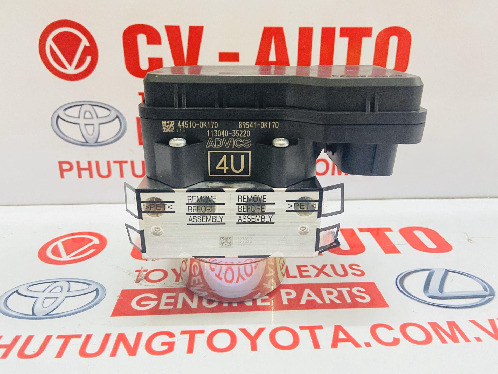 Picture of 44050-0K170 Bộ chấp hành ABS, bơm ABS Toyota Innova 2016-2020 chính hãng