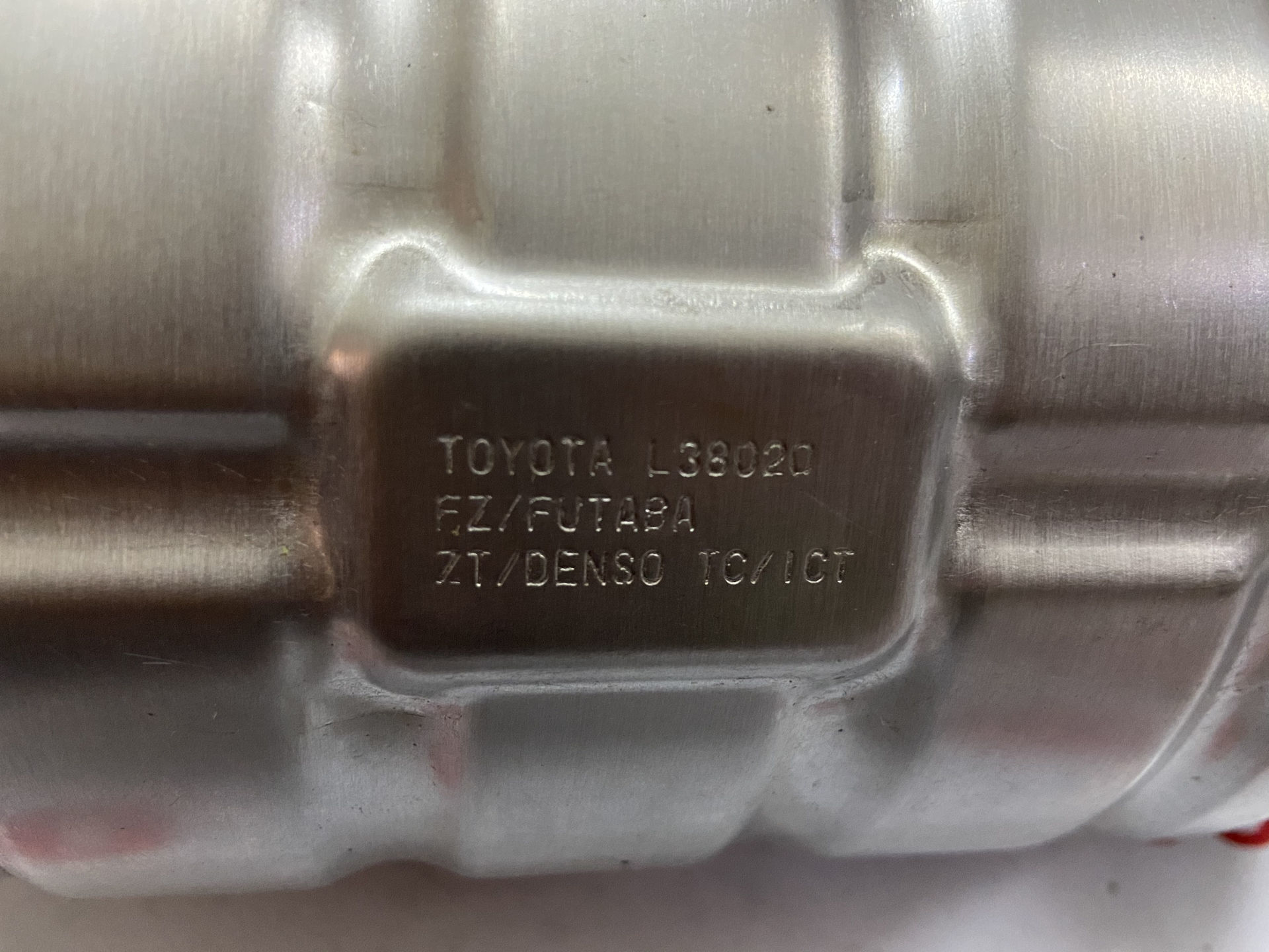 Picture of 17105-38020 Cổ xả, bầu catalyst Lexus LS460 chính hãng