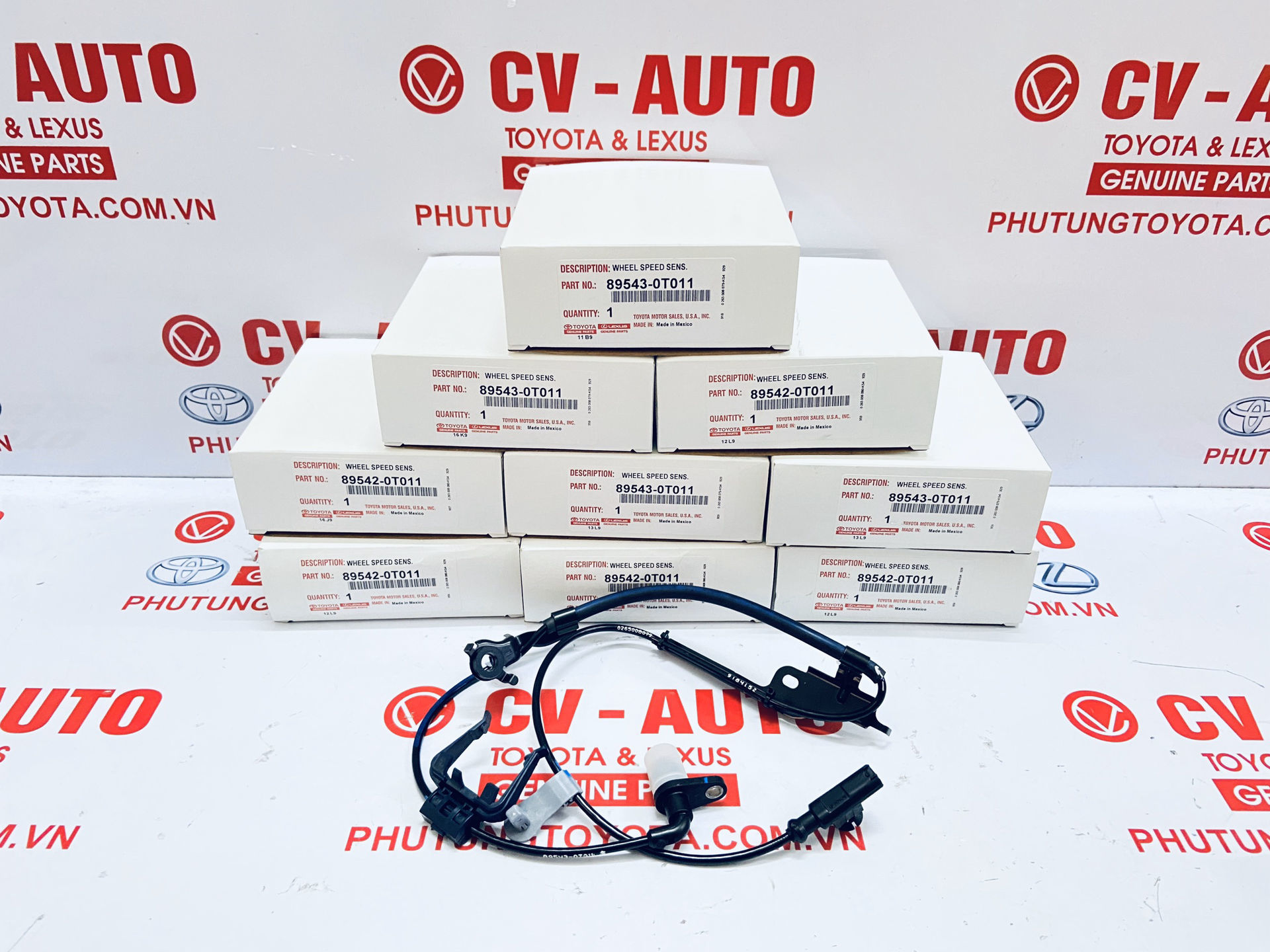Picture of 89543-0T011 Cảm biến ABS Toyota Venza chính hãng