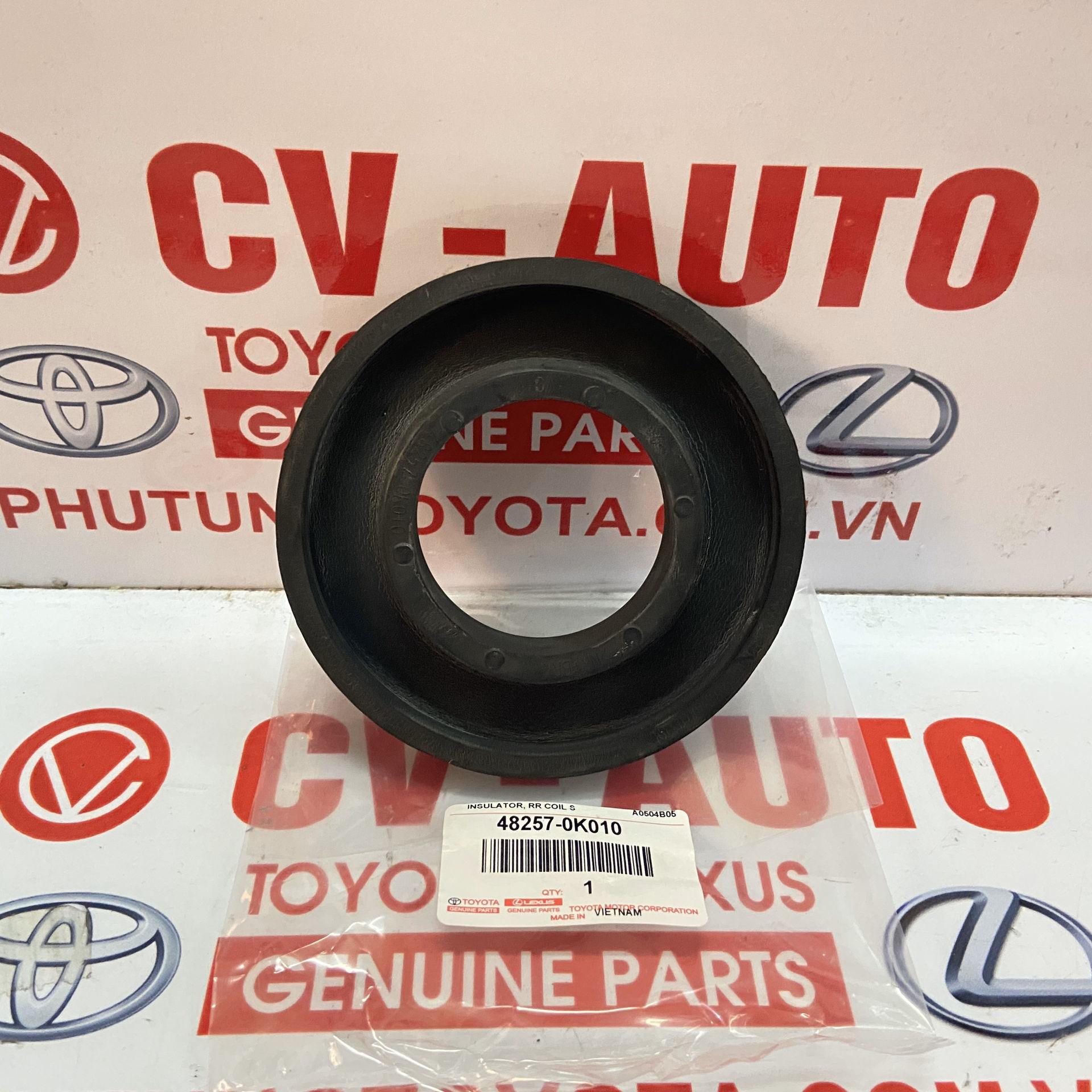 Picture of 48257-0K010 Cao su đệm trên lò xo giảm xóc Toyota Fortuner chính hãng