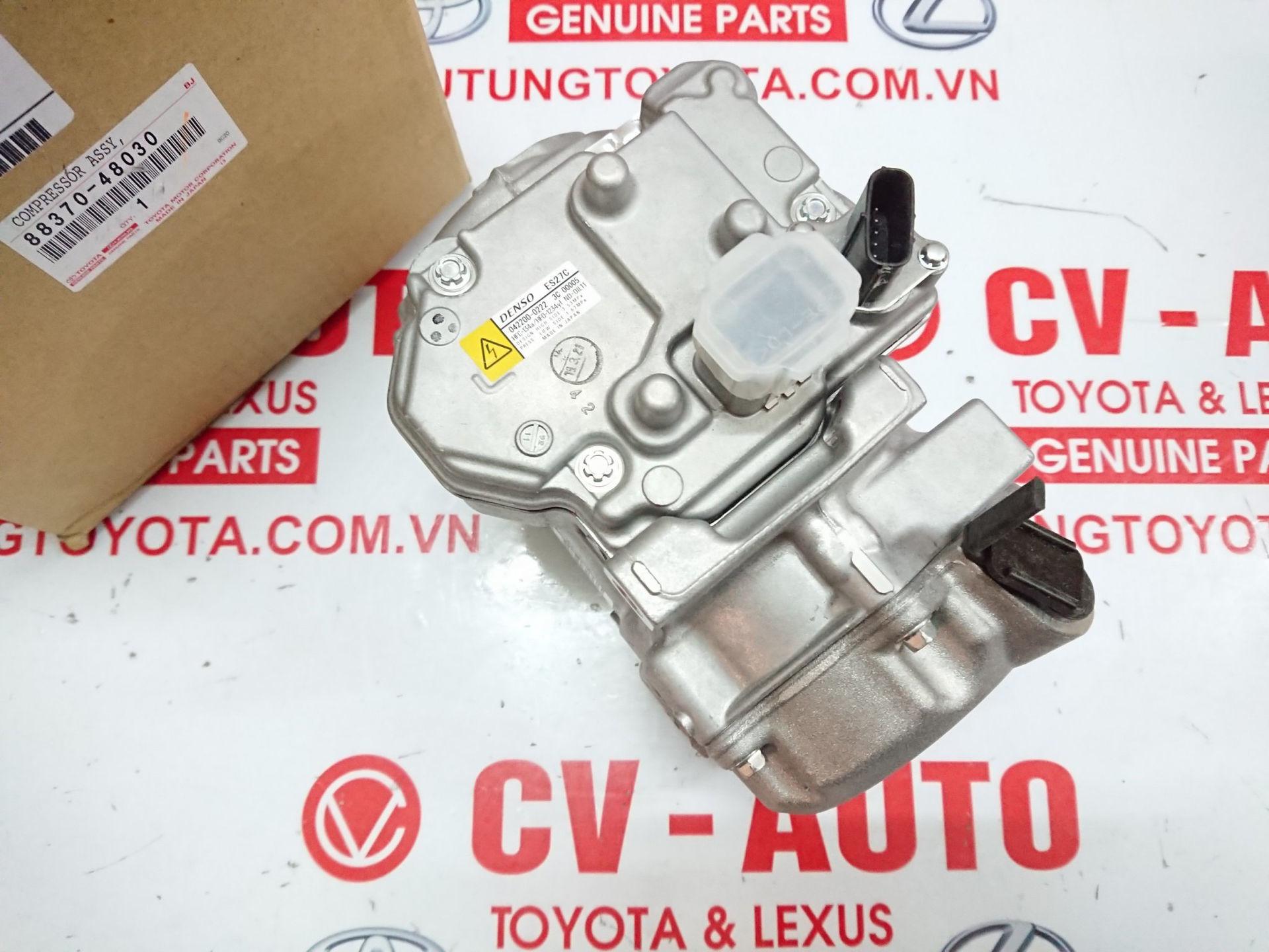 Picture of 88370-48030 Lốc điều hòa Lexus RX350, RX450H chính hãng
