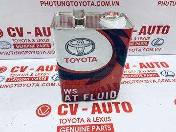 Hình ảnh của08886-02305 Dầu số Toyota, Lexus  ATF WS can 4 lít chính hãng