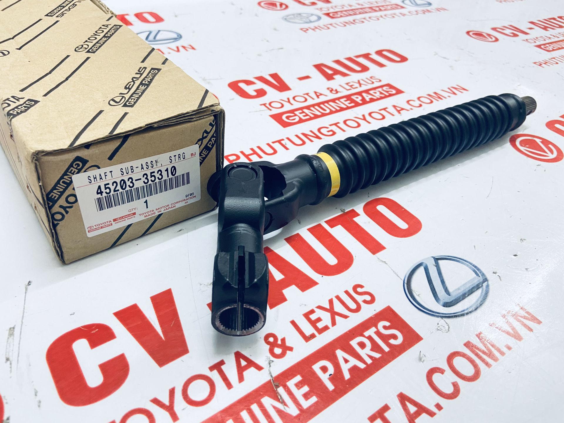 Picture of 45203-35310 Khớp các đăng lái dưới Lexus GX470,  Land Cruiser Prado 04-09 chính hãng