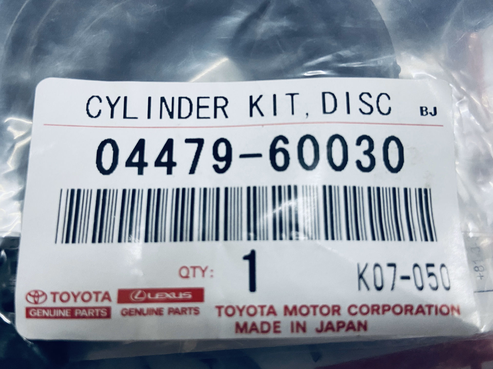 Picture of 04479-60030 Cupen phanh sau Lexus GX460, GX470, Land Cruiser Prado, Land Cruiser 105