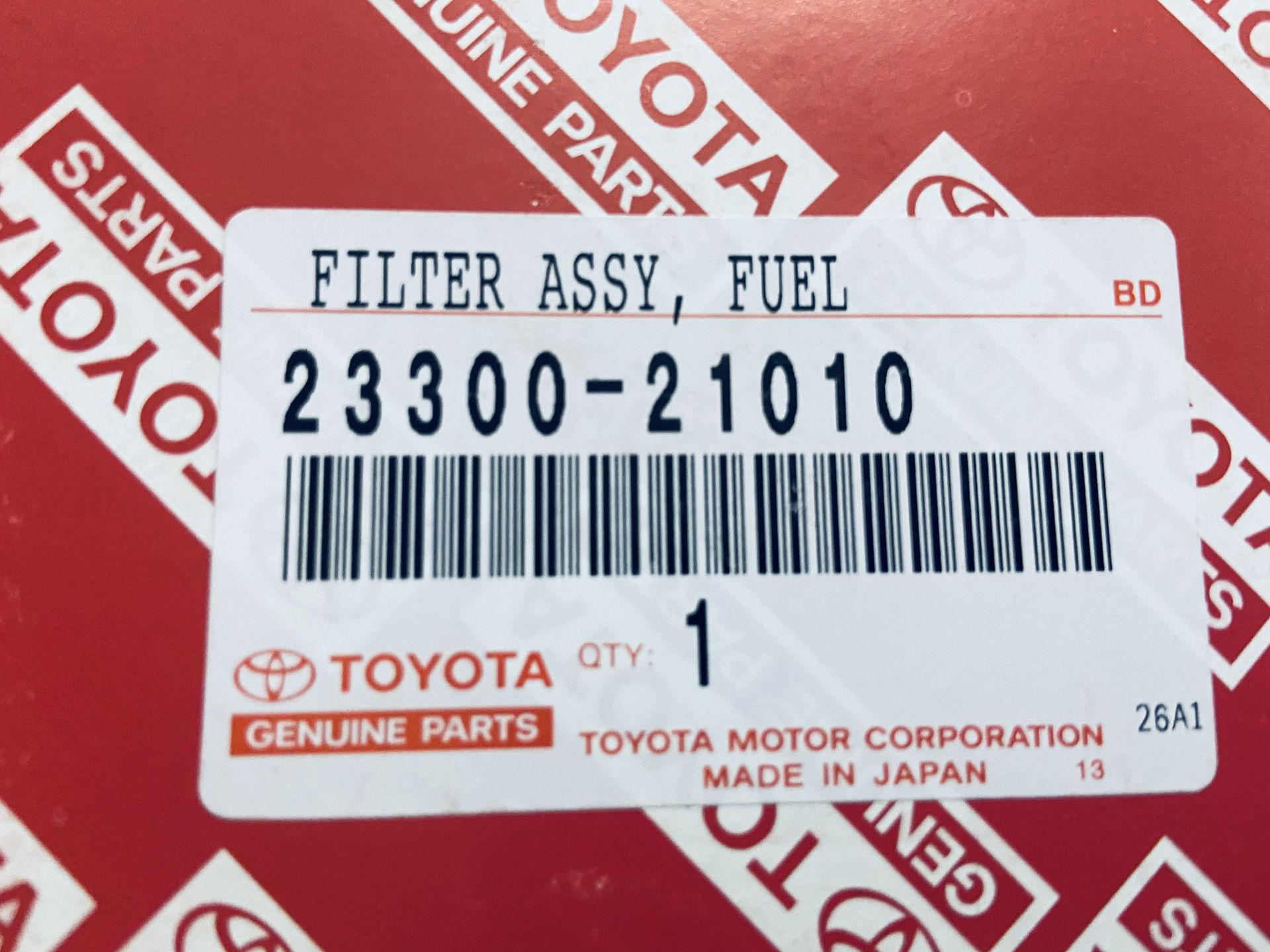 Picture of 23300-21010 Lọc xăng Toyota Camry, Vios, Altis / Lexus ES350, LS430, RX400H , RX450H
