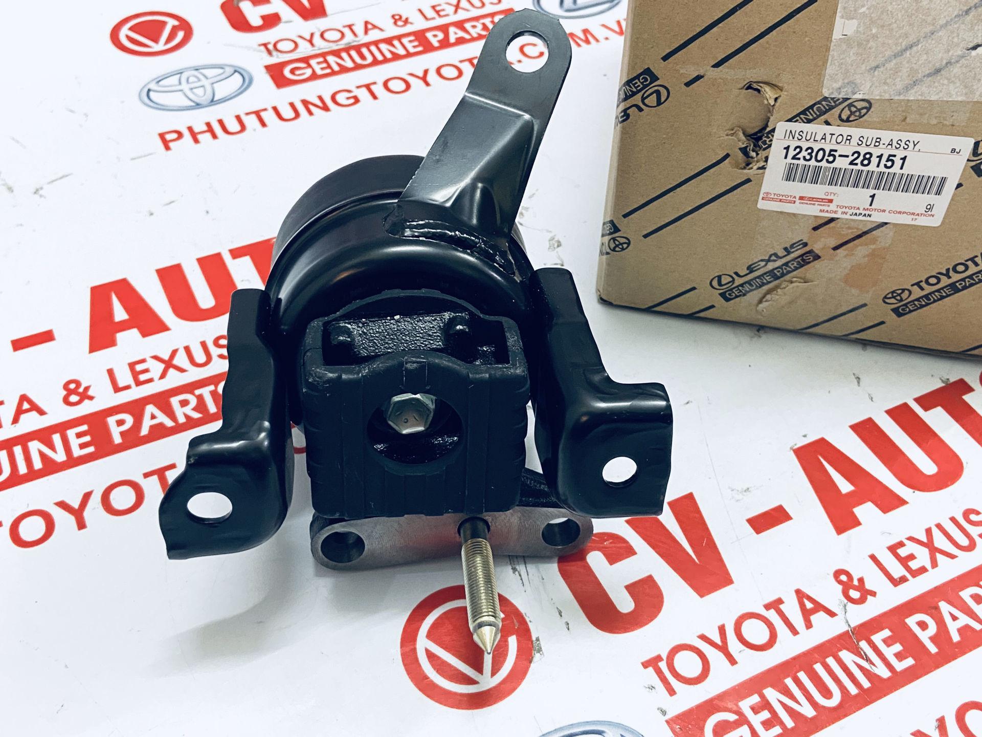 Picture of 12305-28151 Chân máy Toyota RAV4 01-03 chính hãng