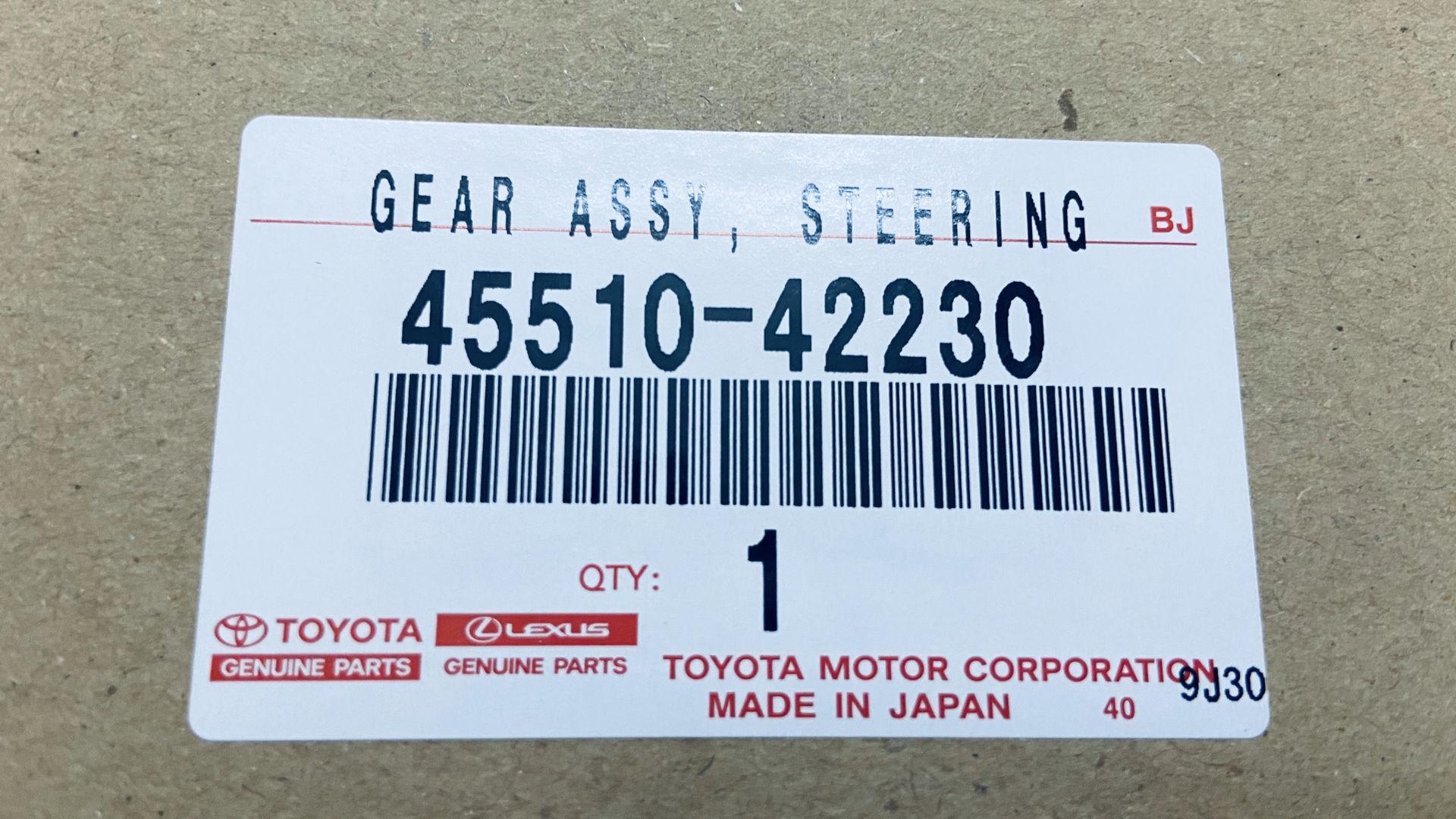 Picture of 45510-42230 Thước lái Toyota RAV4 hàng chính hãng