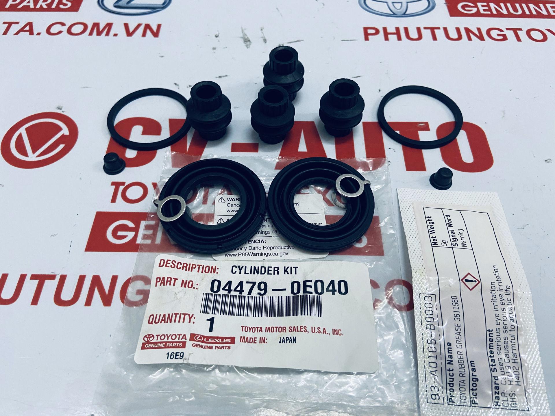 Picture of 04479-0E040 Cupen phanh sau Toyota Highlander chính hãng