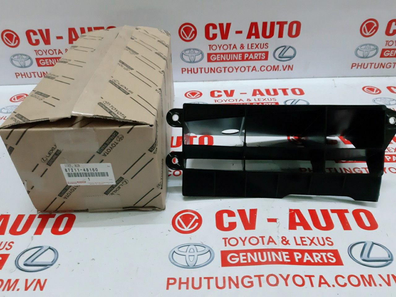 Picture of 87211-48160 Ốp che két giải nhiệt bơm nước phụ Lexus RX450H