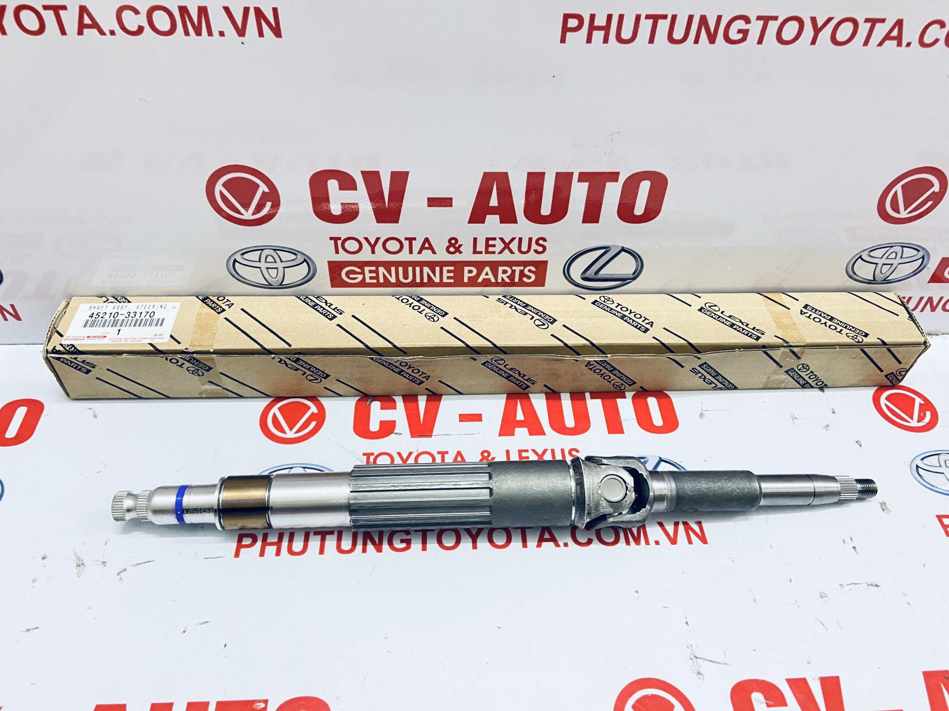 Picture of 45210-33170 Trục lái chính Lexus ES350 / Toyota Camry hàng chính hãng