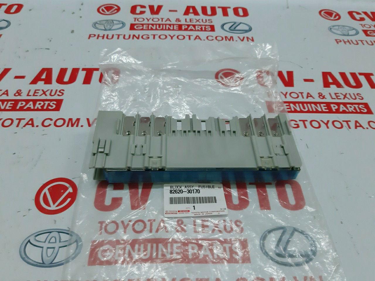 Picture of 82620-30170 Hộp cầu chì động cơ Lexus GSIS hàng chính hãng