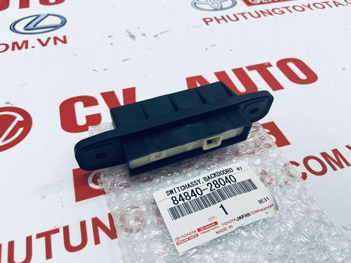 Picture of 84840-28040 Công tắc mở cốp sau Lexus RX350 RX450H LX570 / Toyota Land Cruiser Highlander RAV4 Previa Prius chính hãng