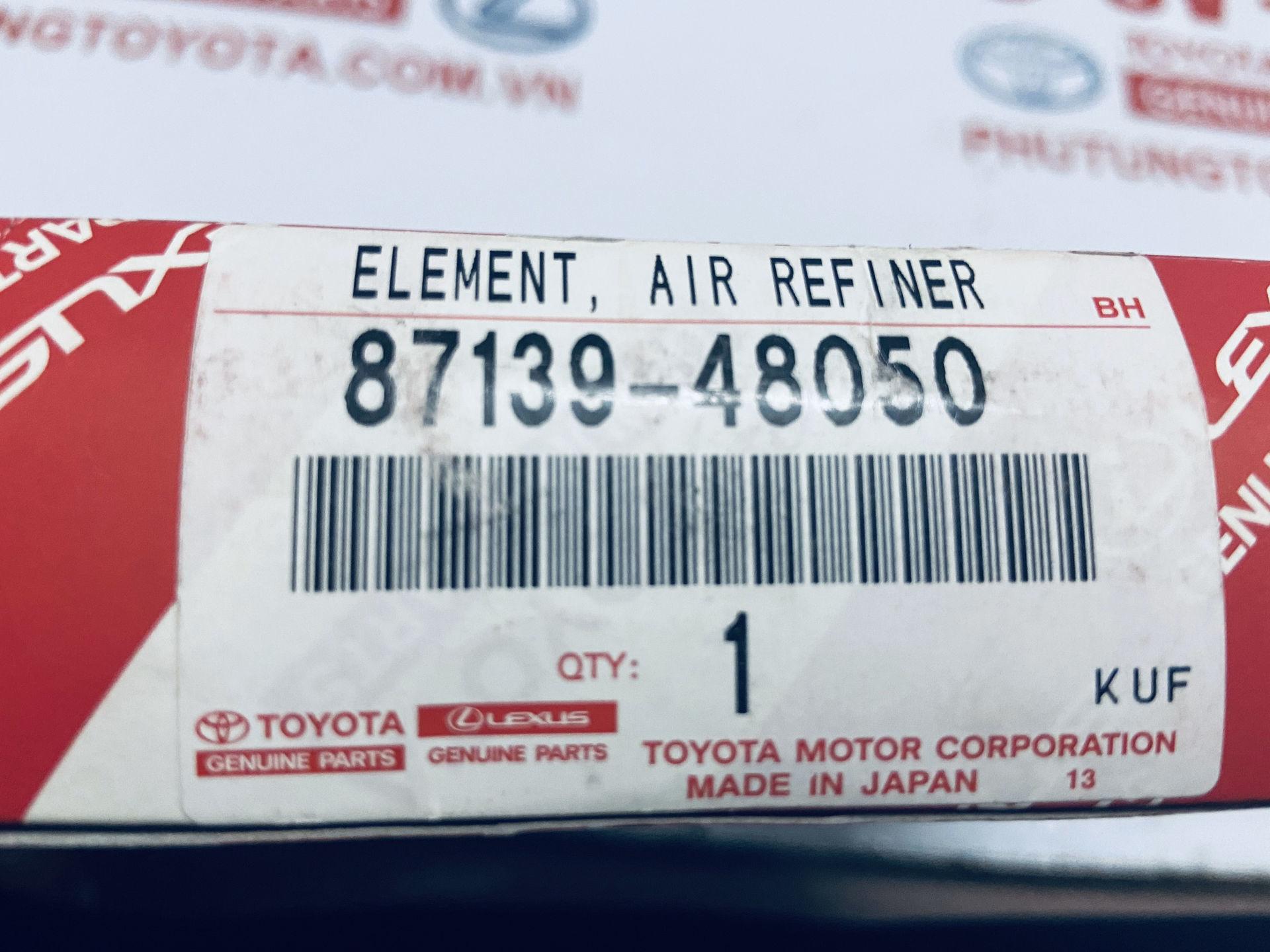 Picture of 87139-48050 Lọc gió điều hòa Lexus RX350 RX450H hàng chính hãng
