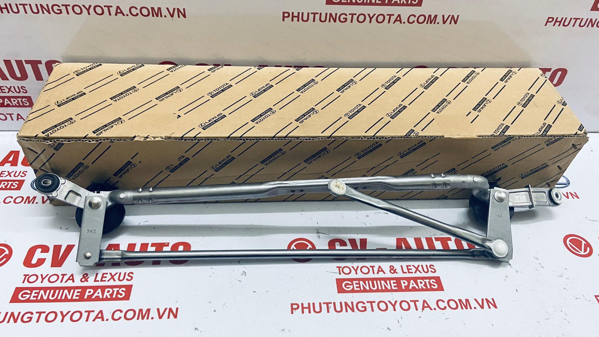 Picture of 85150-60370 Giằng gạt mưa, cơ cấu gạt mưa Toyota Land Cruiser Prado chính hãng