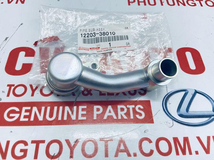 Picture of 12203-38010 Ống hơi nhớt Toyota Lexus hàng chính hãng