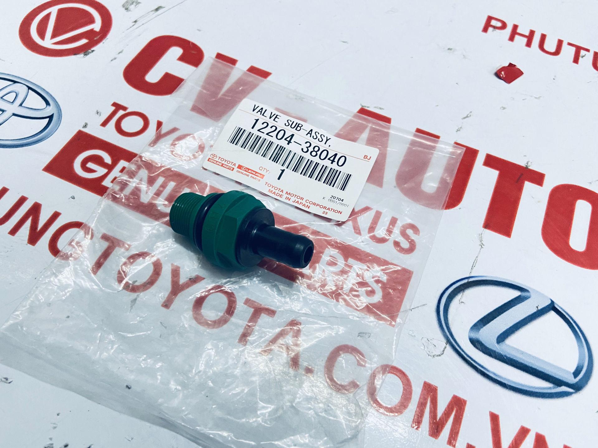 Picture of 12204-38040 Van thông hơi nắp cò Toyota Lexus chính hãng