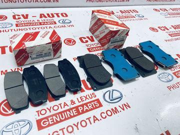 Hình ảnh của04465-60320 Má phanh Lexus GX460 GX470, Toyota Fortuner, Land Cruiser Prado chính hãng