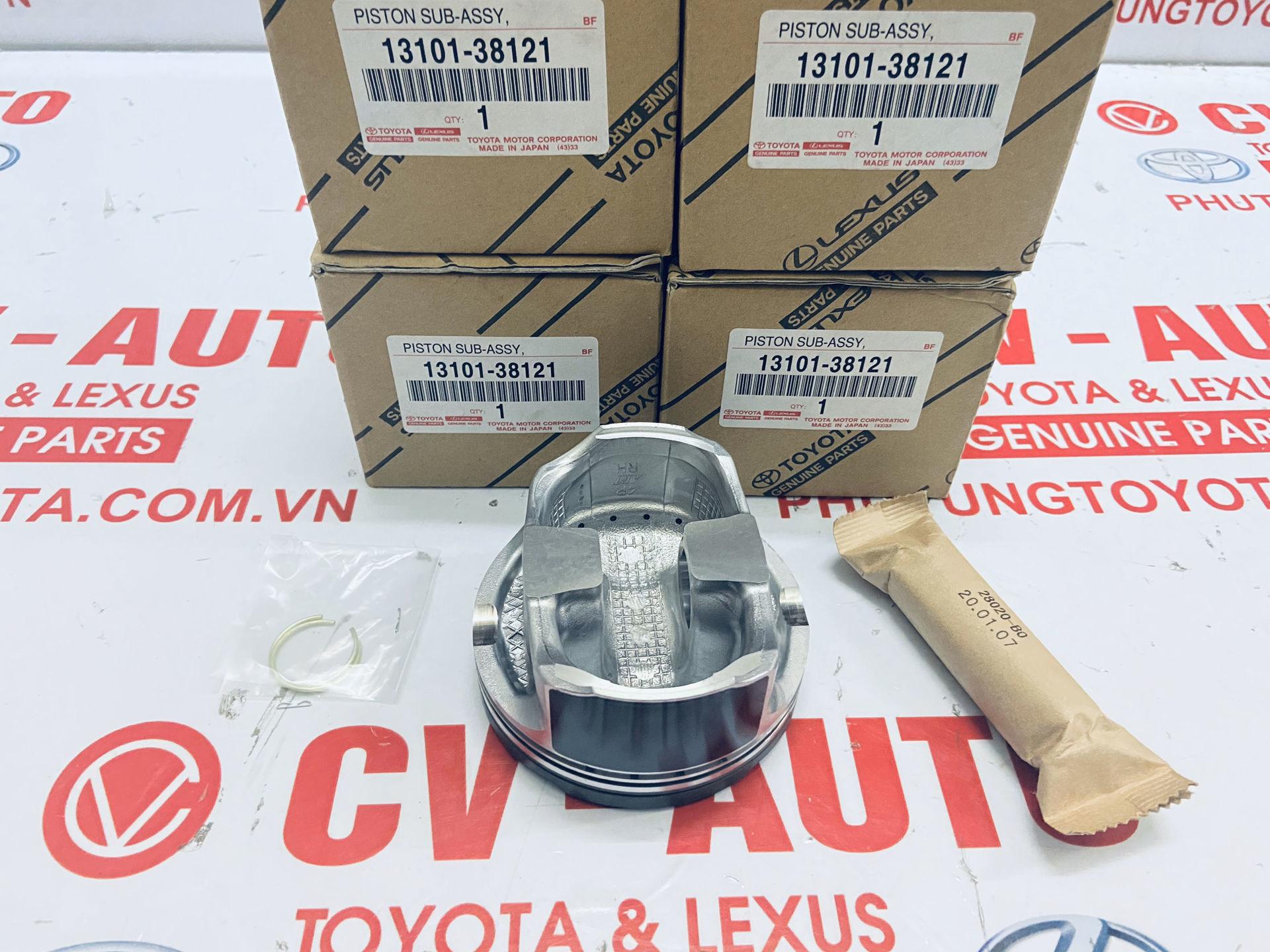 Picture of 13101-38121 13301-38021 Piston bên phải, trái Lexus LS600H hàng chính hãng