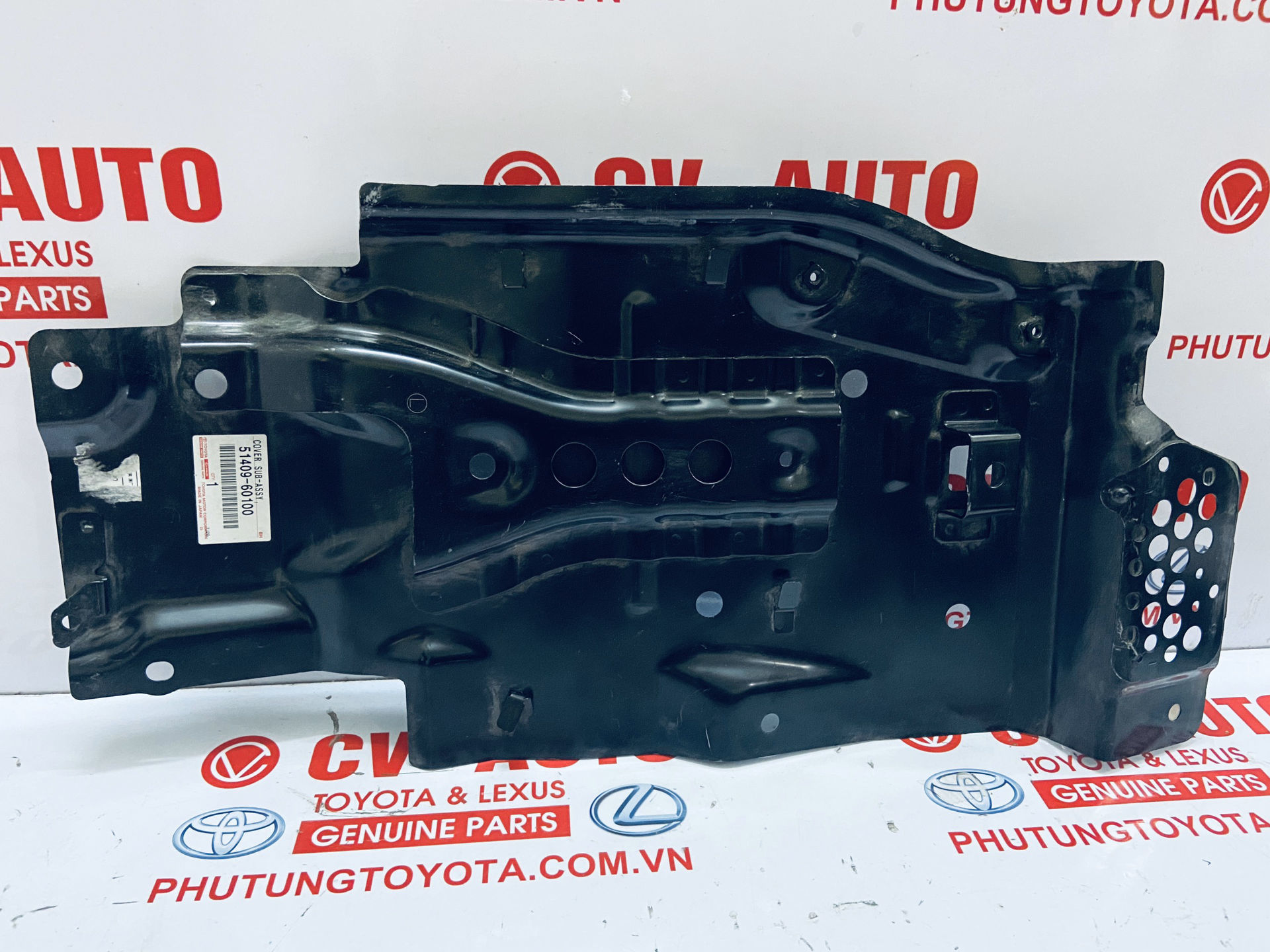 Picture of 51409-60100 Chắn bùn gầm máy Lexus LX570, Toyota Land Cruiser Prado