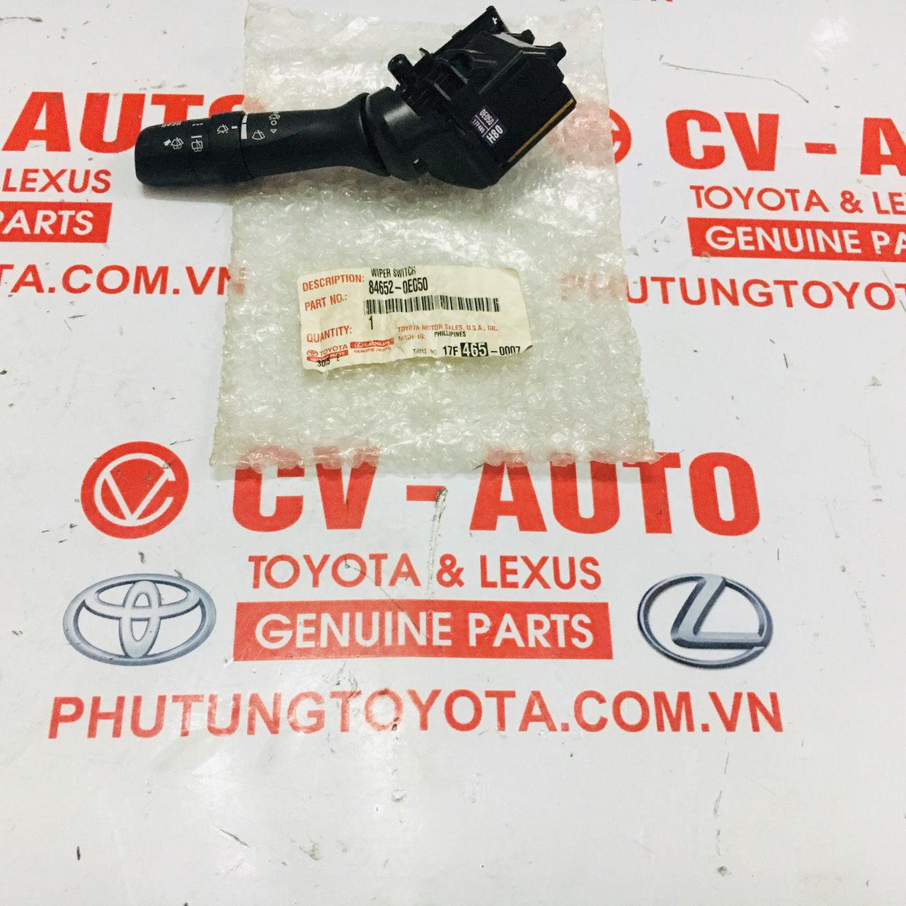 Picture of 84652-0E050 Công tắc gạt mưa Toyota Venza Sienna Highlander / Lexus RX330 RX350 chính hãng