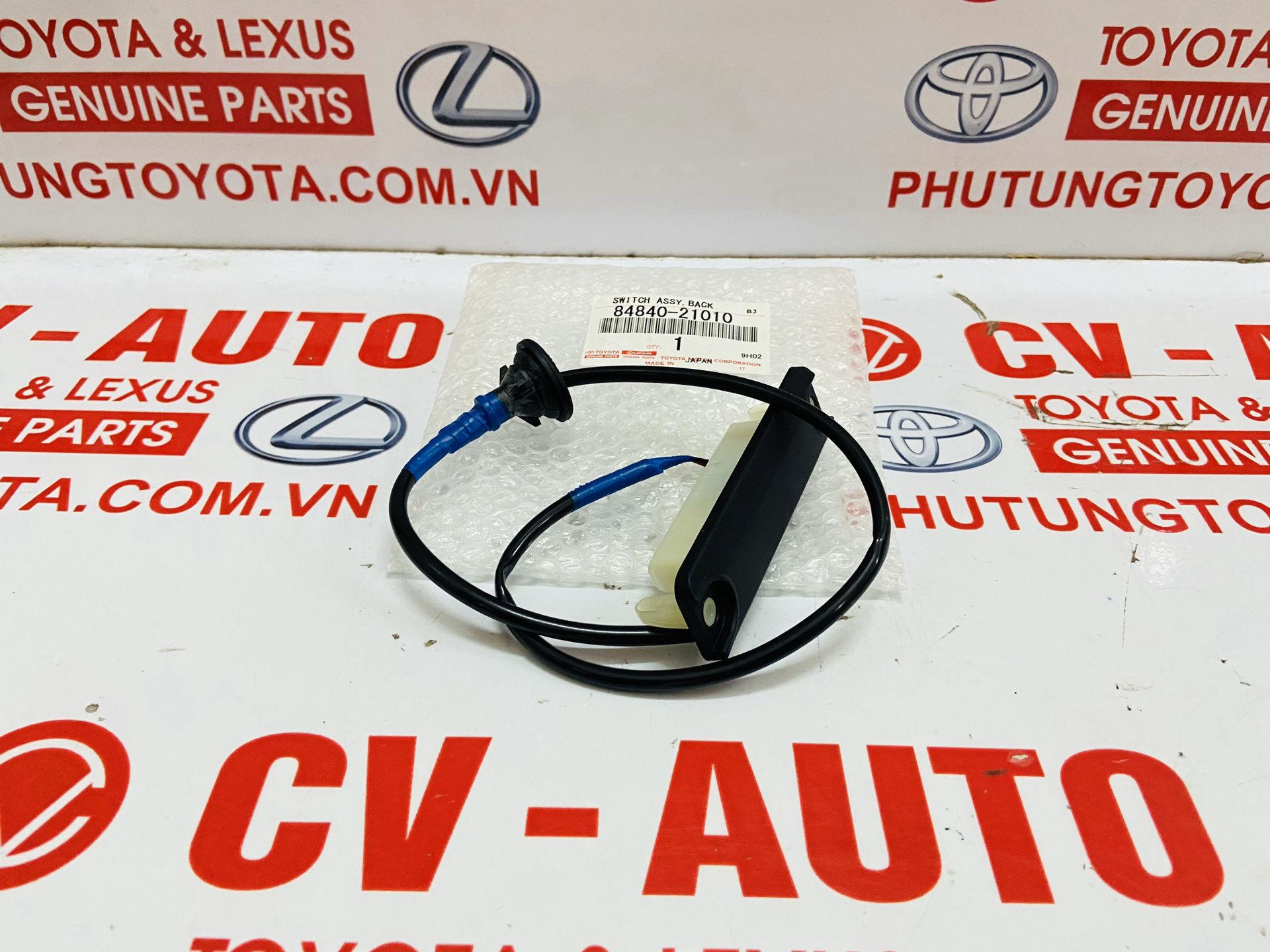 Picture of 84840-21010 Công tắc mở cốp sau Lexus LS460 LS600H GS300 GS350 RX300 RX330 RX350 RX400H