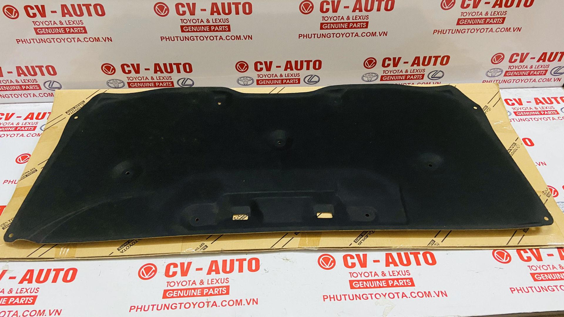 Picture of 53341-33120 Tấm chống nóng capo, tấm cách nhiệt capo Toyota Camry Mỹ chính hãng