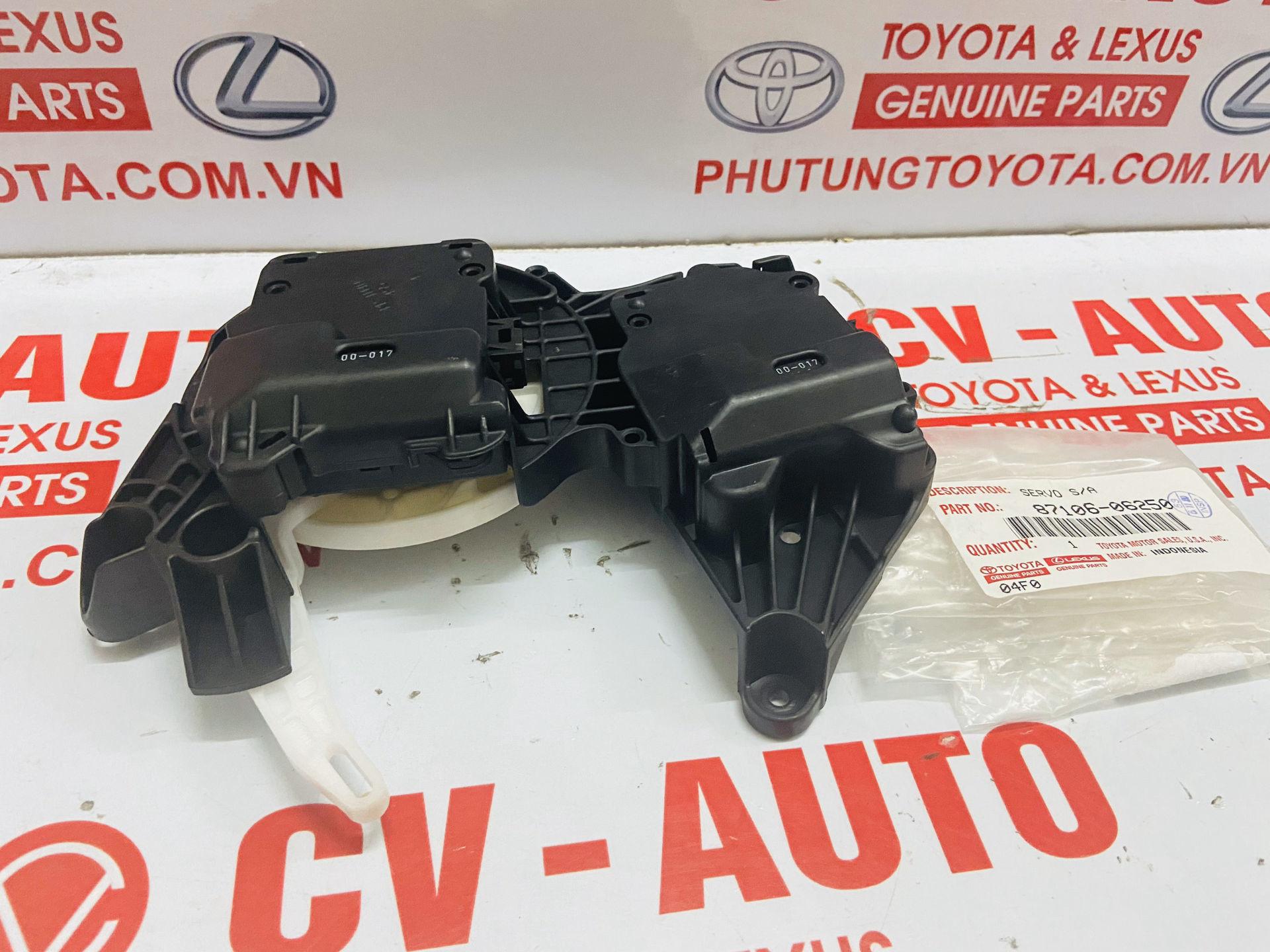 Picture of 87106-06250 Mô tơ điều khiển cửa gió điều hòa Lexus RX350, Toyota Venza Highlander Camry Mỹ