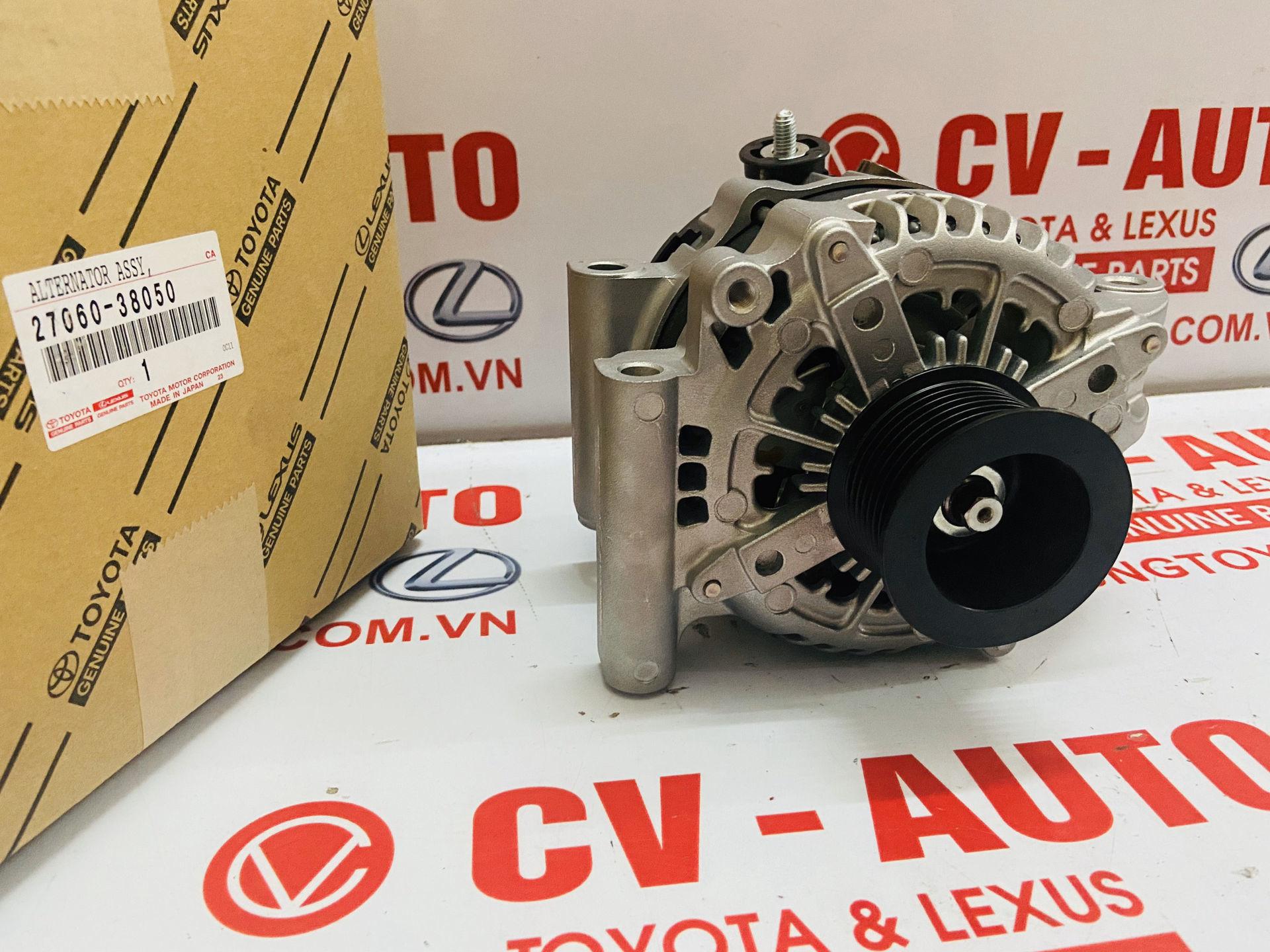 Picture of 27060-38050 Máy phát điện Lexus LX570 - Land Cruiser V8 máy 3UR chính hãng