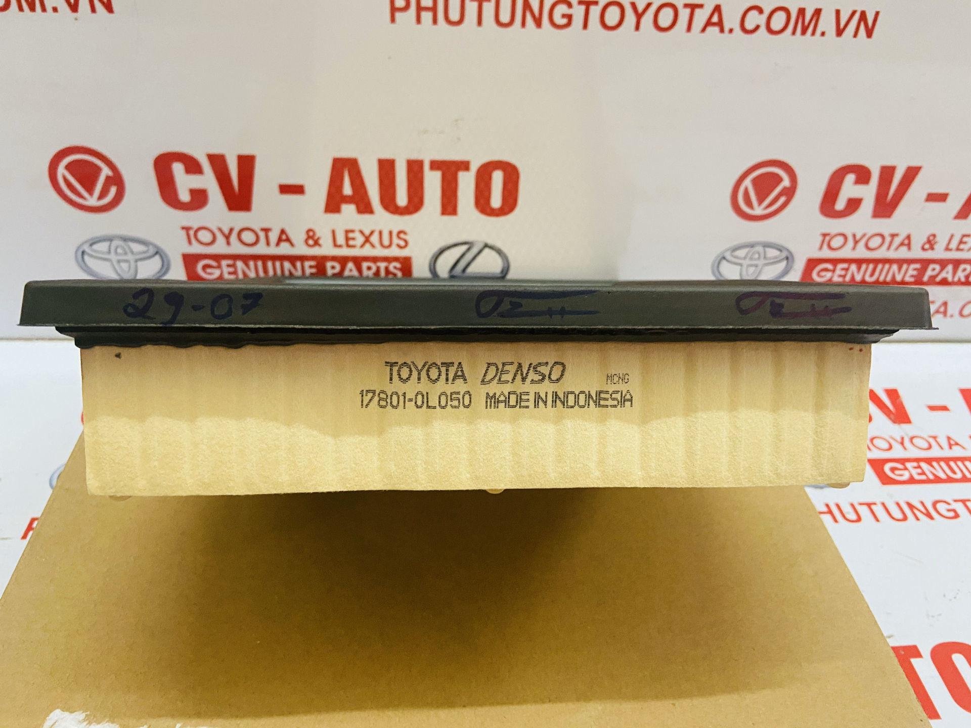 Picture of 17801-0L050 Lọc gió động cơ Toyota Innova 2018 chính hãng
