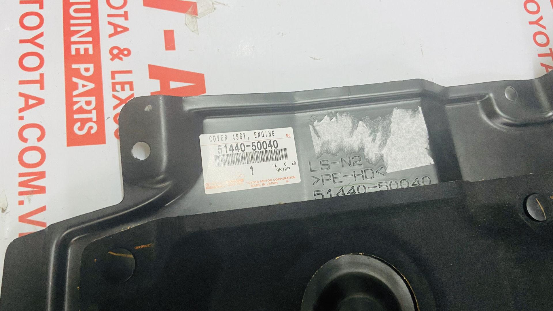 Picture of 51440-50040 Chắn bùn gầm máy Lexus LS460 chính hãng